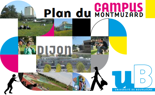 plan du campus montmuzard