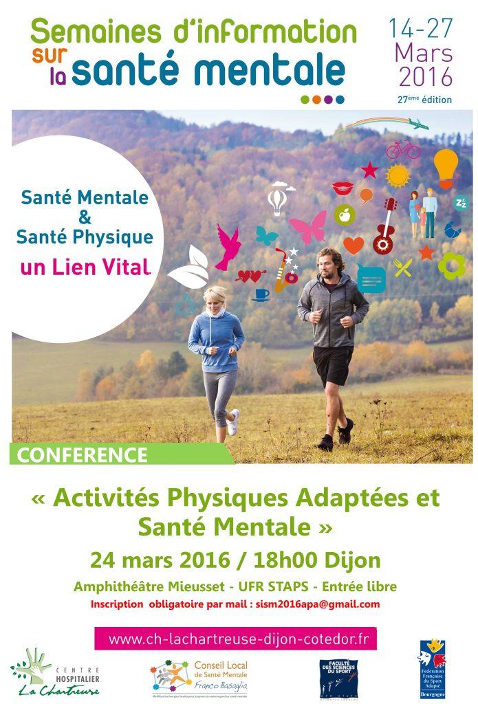Conférence Activités Physiques Adaptées et Santé Mentale