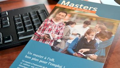 Candidature en master